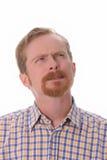 думать портрета человека Стоковая Фотография RF