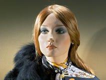 думмичная модная женщина стоковые изображения rf