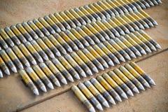 Думмичные боеприпасы для вертолета боя Стоковые Фото