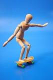 Думмичный кататься на коньках Стоковые Фотографии RF