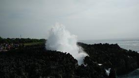 Дуновение воды к небу Стоковые Изображения RF