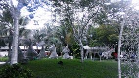 Дуновение статуи Анджела труба Стоковая Фотография