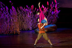 дуо танцульки китайца самомоднейшее Стоковая Фотография