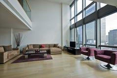 дуплекс квартиры стоковое изображение rf