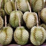 Дуриан в рынке Таиланда Стоковое Фото