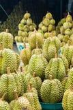 Дуриан, плодоовощ в рынке Таиланда Стоковая Фотография