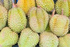 Дуриан, плодоовощ в рынке Таиланда Стоковое фото RF