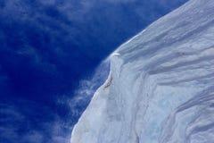 дуть над снежком оправы Стоковые Фото