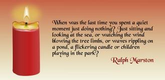 Духовная цитата Стоковое Изображение RF