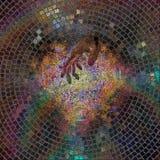 духовность руки бога принципиальной схемы Стоковые Изображения RF