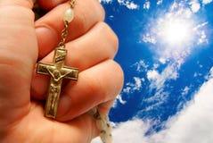 духовность christ jesus предпосылки Стоковое фото RF