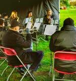 Духовой оркестр стоковые фото