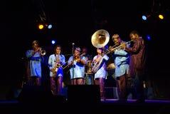 Духовой оркестр Gangbe Стоковая Фотография