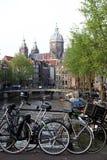 Дух Амстердама Стоковые Изображения