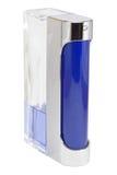 дух заполненный бутылкой половинный Стоковое Изображение RF