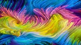Дух красочной краски Стоковая Фотография RF