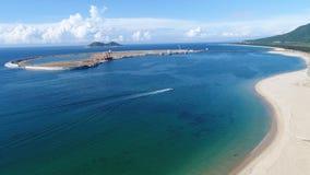 дух моря ветрила приключения вниз стоковое фото rf