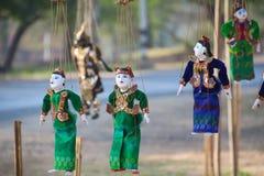 Дух Мьянмы стоковые фото