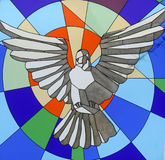 дух падуба dove стоковая фотография rf