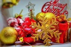 Дух, приветствия и утеха рождества Стоковое Изображение