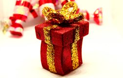 Дух, приветствия и утеха рождества Стоковые Изображения RF