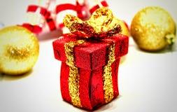 Дух, приветствия и утеха рождества Стоковое Фото