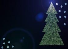 дух рождества Иллюстрация вектора