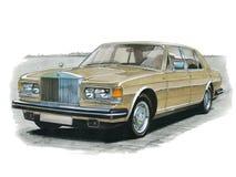 Дух серебра Rolls Royce Стоковая Фотография