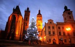 Дух st церков и белый городок стоковые фото