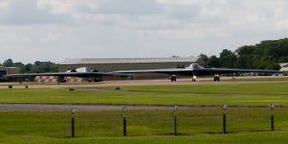 Дух USAF Northrop Grumman B-2A Стоковые Фотографии RF