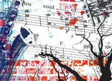 душа нот Стоковое Изображение