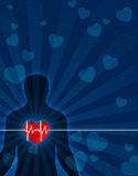 душа сердца тела Стоковая Фотография RF