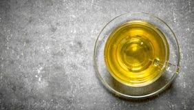 Душистый зеленый чай Стоковое Изображение RF