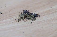 Душица с маковыми семененами Стоковая Фотография