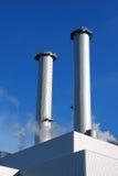 дымовые трубы Стоковое Фото