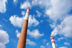 Дымовые трубы Стоковое фото RF
