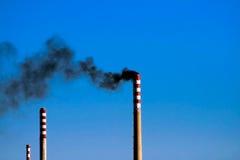 дымовые трубы 3 Стоковые Фотографии RF