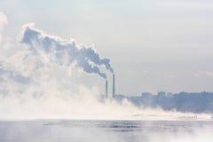 Дымовые трубы Стоковые Фотографии RF