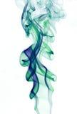 дым абстрактного фона цветастый Стоковое Изображение RF