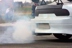 дым автомобиля Стоковое фото RF