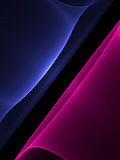дым голубого красного цвета Стоковые Фото