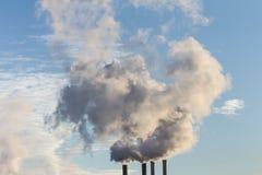 Дым индустрии Стоковая Фотография RF