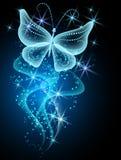 Дым и бабочка иллюстрация штока
