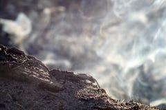 Дым и золы долгой выдержки костра макрос конца-вверх стоковые изображения