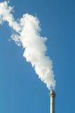 Дым и печная труба Стоковые Изображения