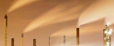 Дым и печные трубы Стоковые Фото