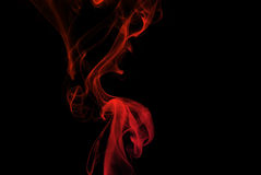 дым конспекта покрашенный Стоковое Изображение RF