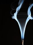 дым кривых Стоковое фото RF