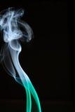 дым кривых Стоковая Фотография