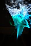 дым кривых Стоковые Фото